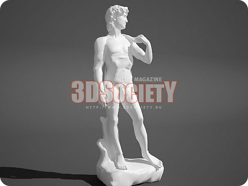 3D модель  Давид Микеланжело