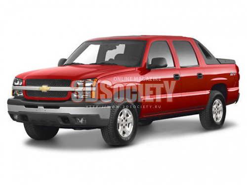 3dSkyHost: 3D model Chevrolet Avalanche