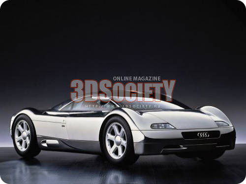 3dSkyHost: 3D model of Audi AVUS Quattro