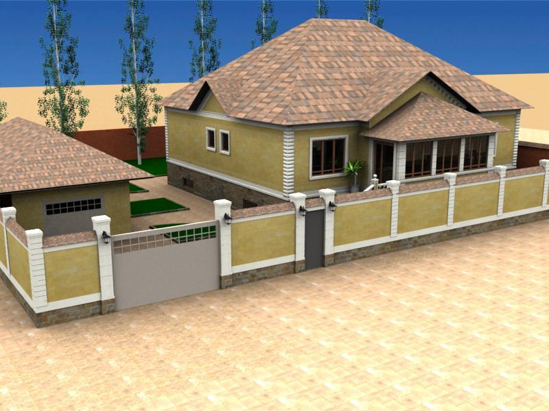 3d модели домов и коттеджей.