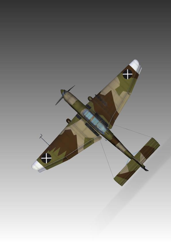 3d модель junkers ju87