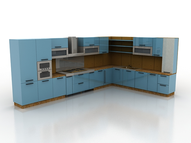 3Д Модели Кухни