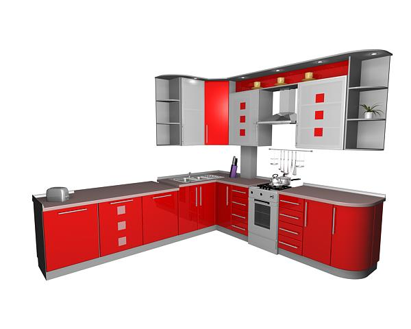 3d модель кухни img-1