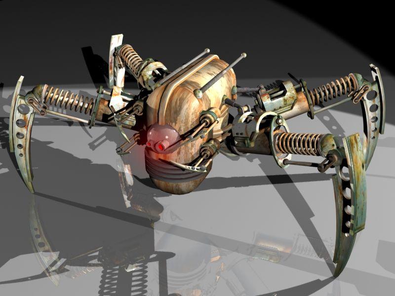 Как сделать робота в 3д макс