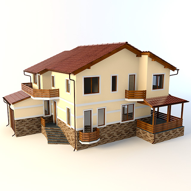 дом 3 д img-1