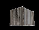 3D модель  16-и этажный жилой дом