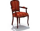 3D модель  3d мягкое кресло