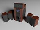 3D модель  3nod sound system