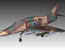 3D модель  A4 Skyhawk
