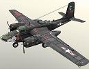 3D модель AB 26C INVADER