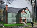 3D модель American_Style_House