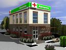 3D модель  аптека