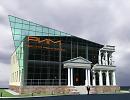 3D модель Банкетный комплекс РИМ