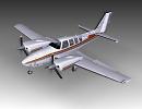 3D модель  Beechcraft Baron 58