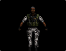 3D модель  Black HGRunt from Half-Life Opposing Force(CAT)