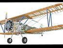 3D модель  Boeing_Stearman_structure