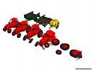 3D модель  Cartoon Tractor