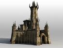 3D модель  castle