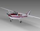 3D модель  Cessna 172