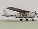 3D модель  Cessna-172S