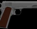 3D модель Colt 1911