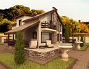 3D модель  cottage