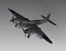 3D модель  DH Mosquito