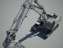3D модель  digger