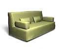 3D модель  Диван bedinge