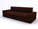 3D модель  divan ikea kivik tullinge