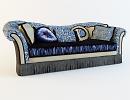 3D модель  диван maranello