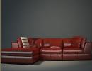 3D модель  дивана лакового