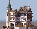 3D модель  дом