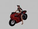 3D модель  Ducati+Lara