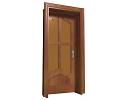 3D модель  двери с коробкой