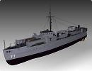 3D модель  German E-Boat