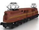 3D модель GG1 локомотив