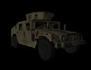 3D модель  HMMWV