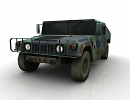 3D модель  Humvee