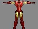 3D модель  iron man