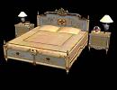 3D модель Классическая кровать