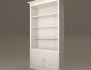 3D модель  книжный шкаф