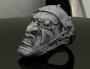 3D модель  кольцо ОЧЕНЬ СТРАШНОЕ