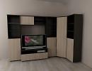 3D модель  комната