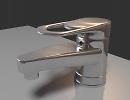 3D модель  Смеситель