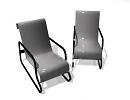 3D модель  кресло паймио