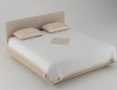3D модель Кровать Borneo