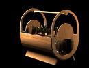 3D модель  крзина для пива