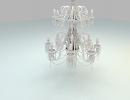 3D модель  люстра