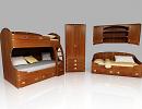 3D модель Мебель для детской-2